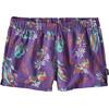 Patagonia W's Barely Baggies Shorts C Street: Purple